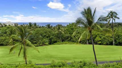 Beautiful ocean and golf course views