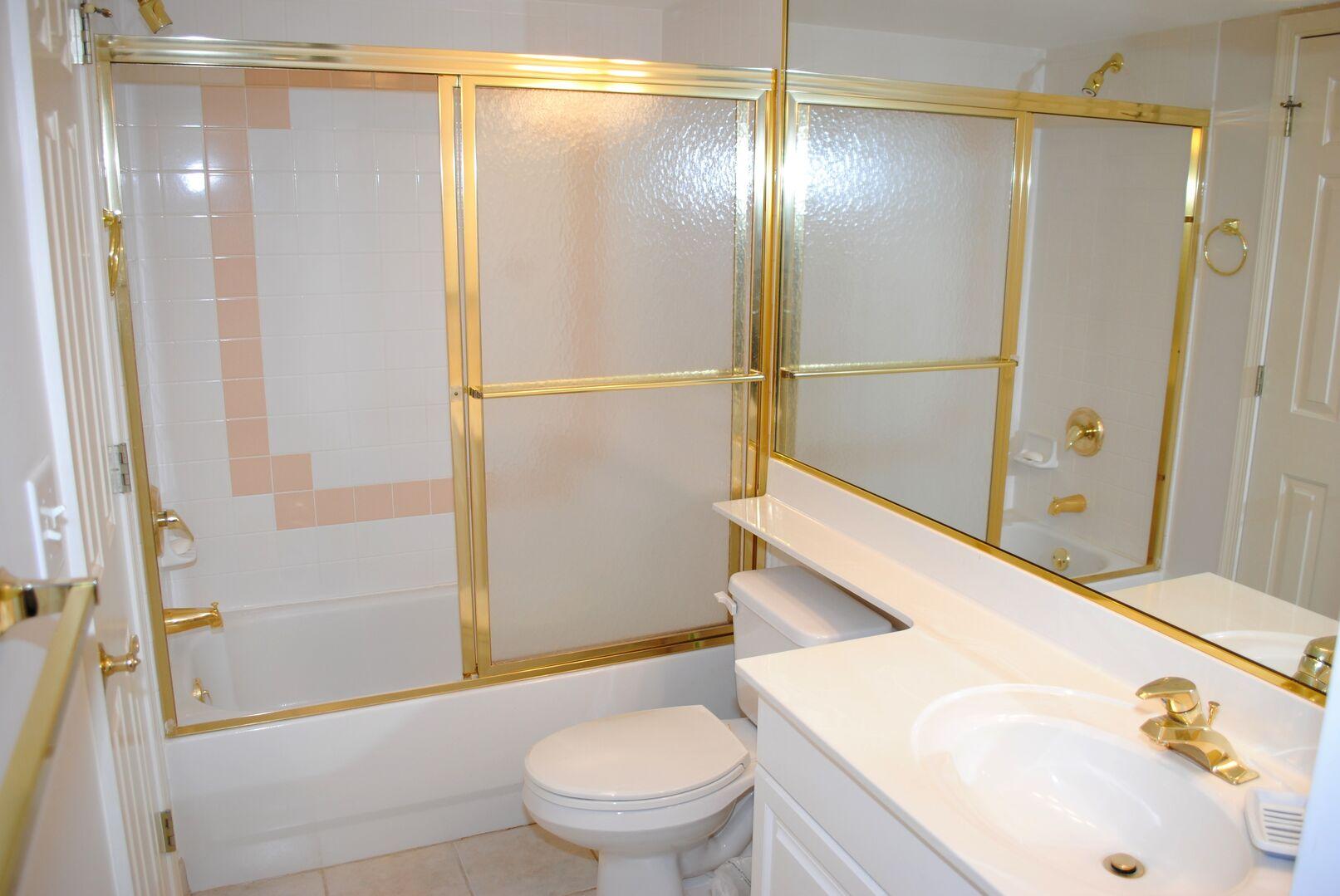 Shared Bathroom (Hallway and Twins)