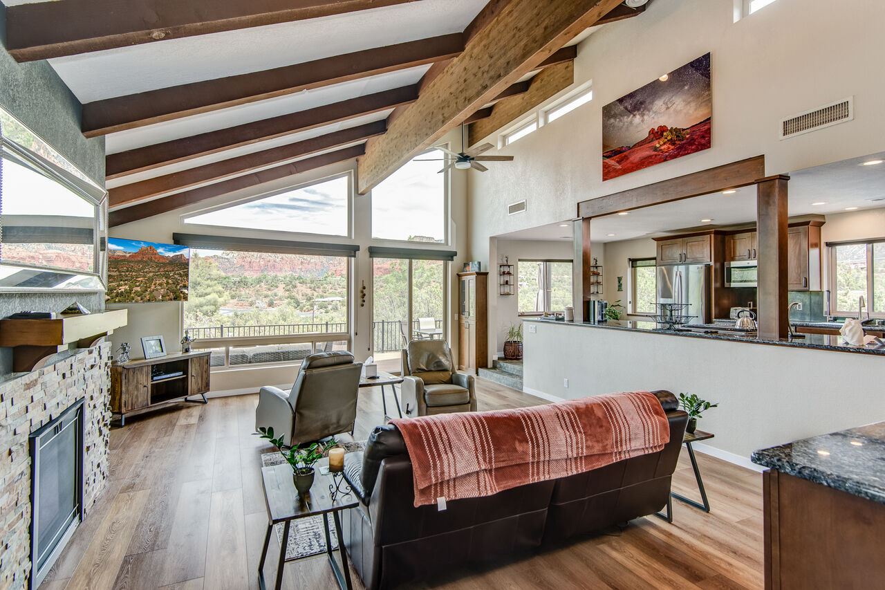 Living Room with Plenty of Natural Light
