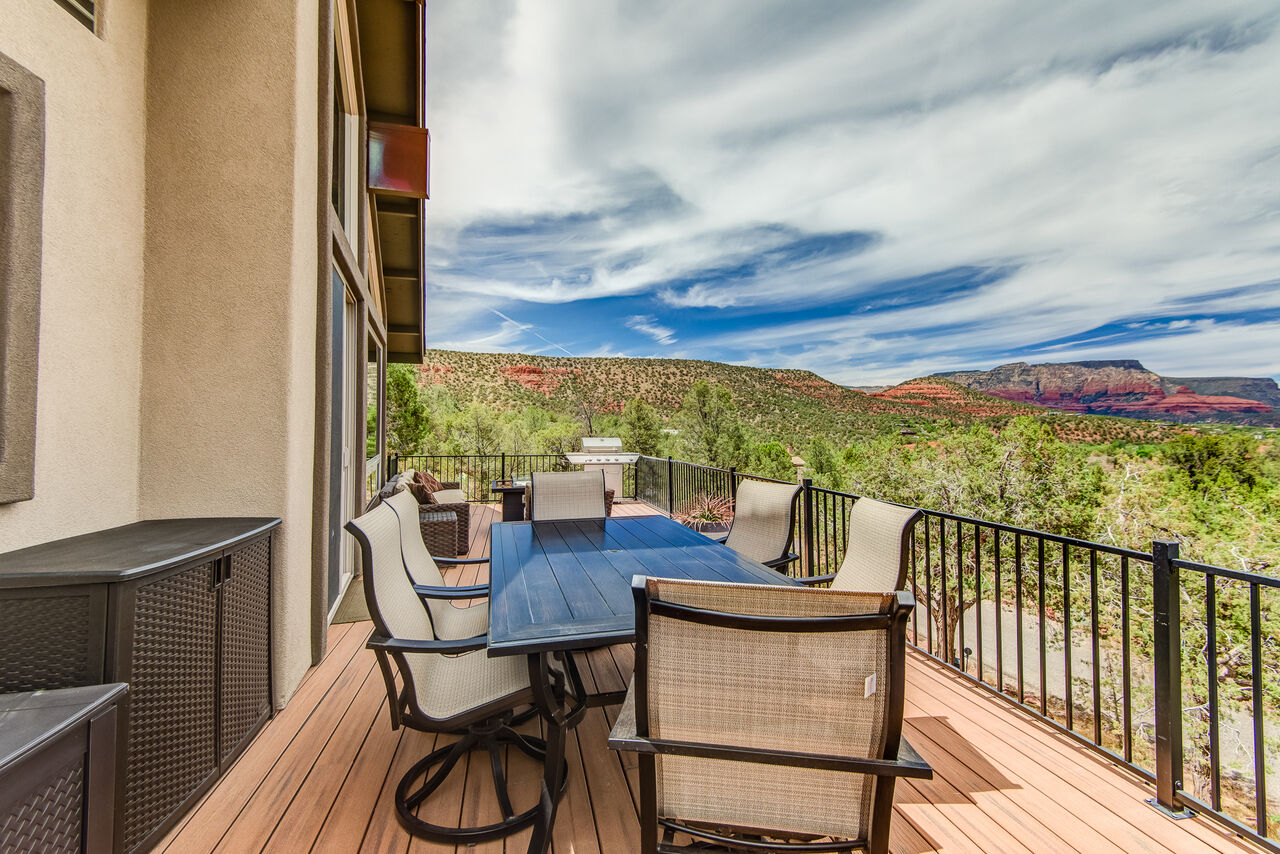 Enjoy Your Meals Outdoors While Taking in the Views