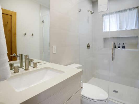 Shared Bathroom w/ Shower - 1st Floor