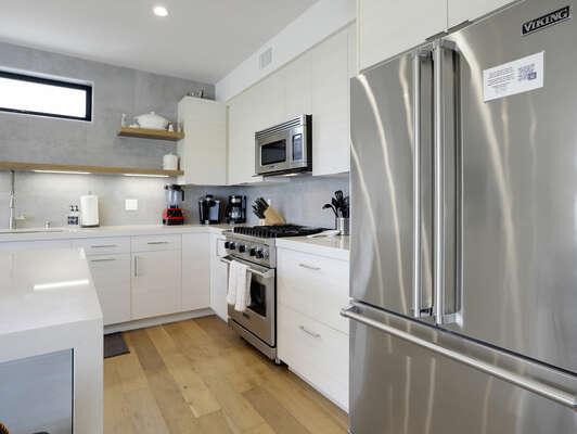 2nd Floor - Modern Kitchen and Appliances