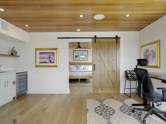 3rd Floor - WFH Space & Master Bedroom