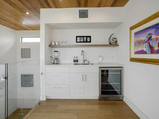 3rd Floor - Kitchenette w/ Wine Cooler