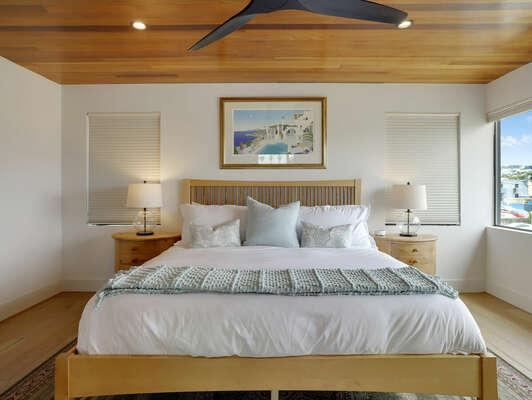Master Bedroom Suite w/ Large Windows