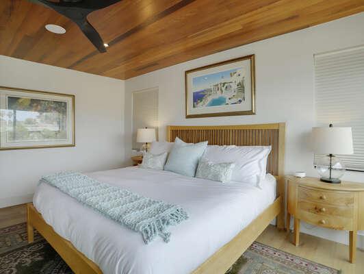 3rd Floor - Master Bedroom Suite w/ King Bed