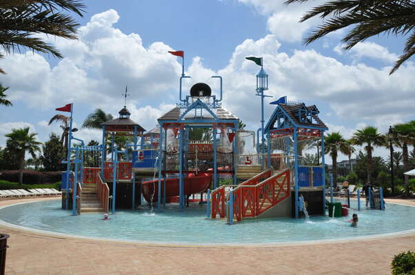 Spend the day at the Reunion Resort waterpark, which is included in your stay