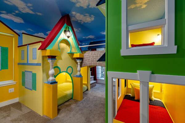 A custom-built room that kids will love