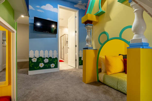 Kids will have their own SMART TV in the bedroom