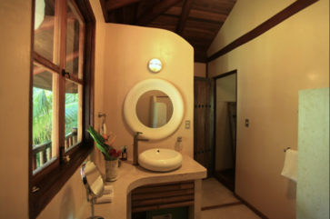The guests bathroom