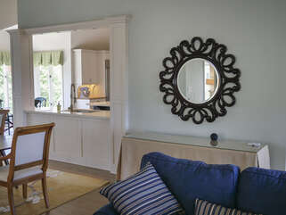 The Great room is open to the dining area and has a pass through into the kitchen
