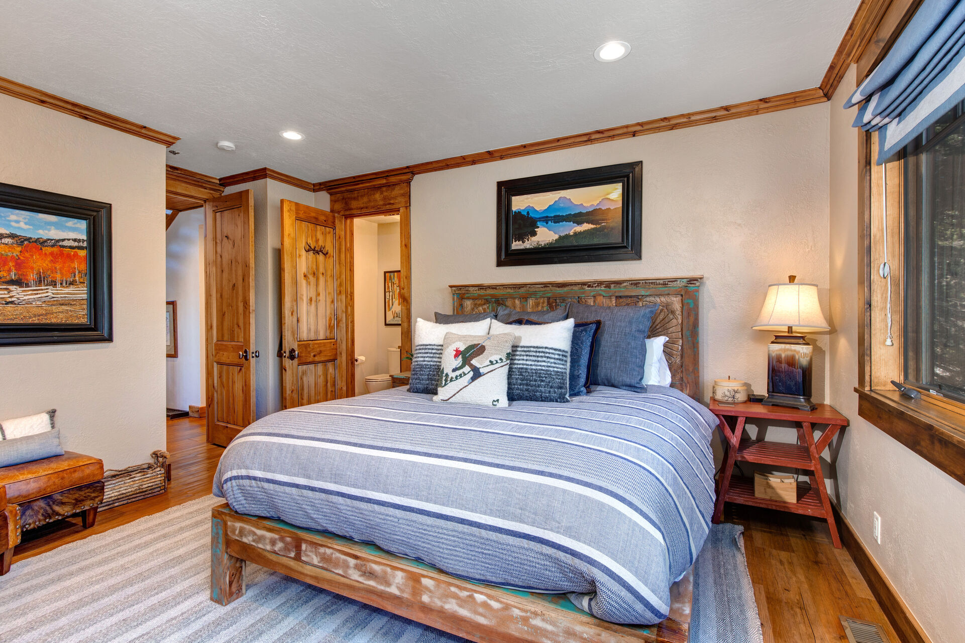 Master Bedroom 3 with Private Access to a Full Shared Bath