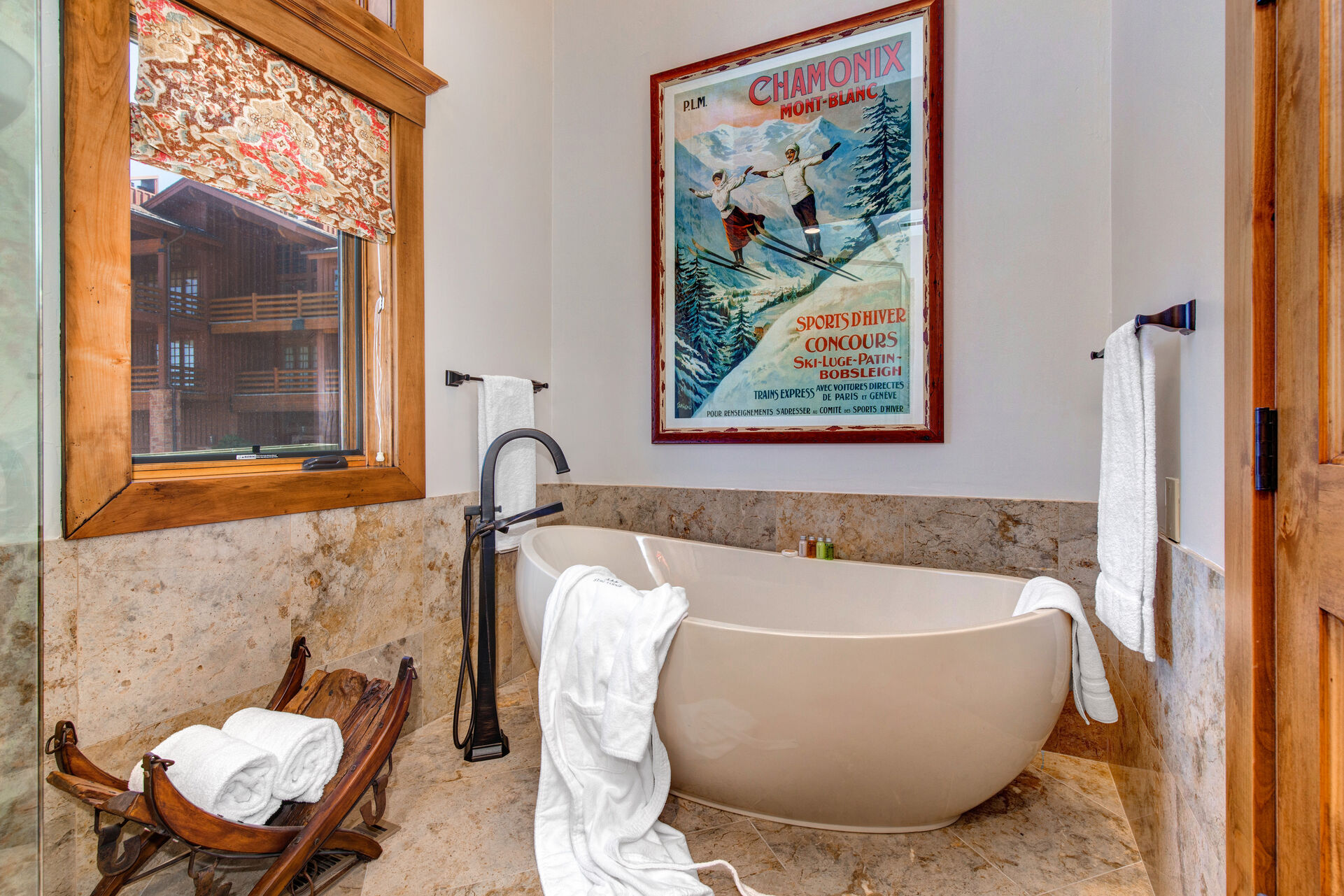 Grand Master Bath with a Large Soaking Tub and Separate Shower