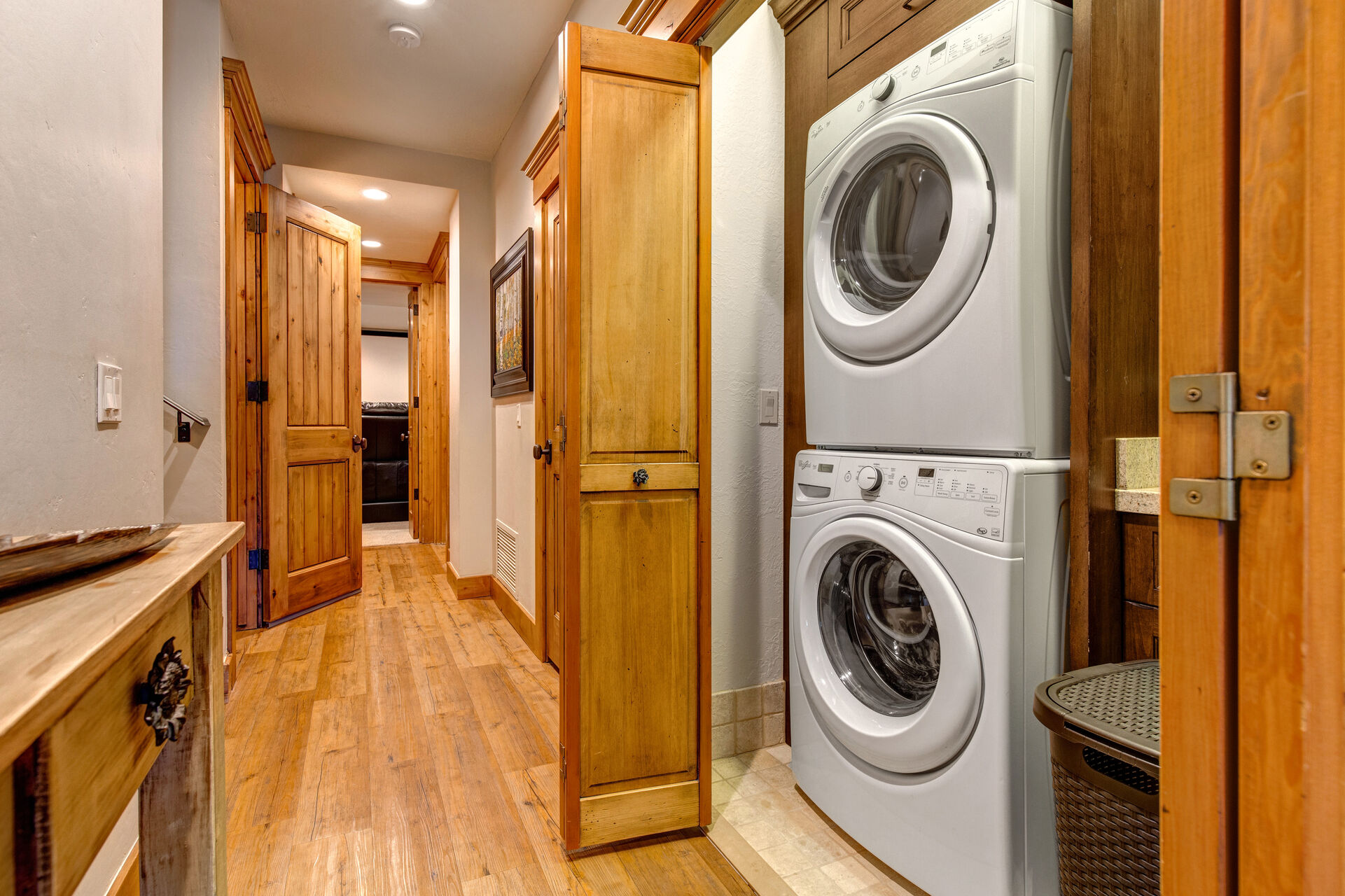 Lower Level Laundry - a 2nd Washer/Dryer Coming Soon