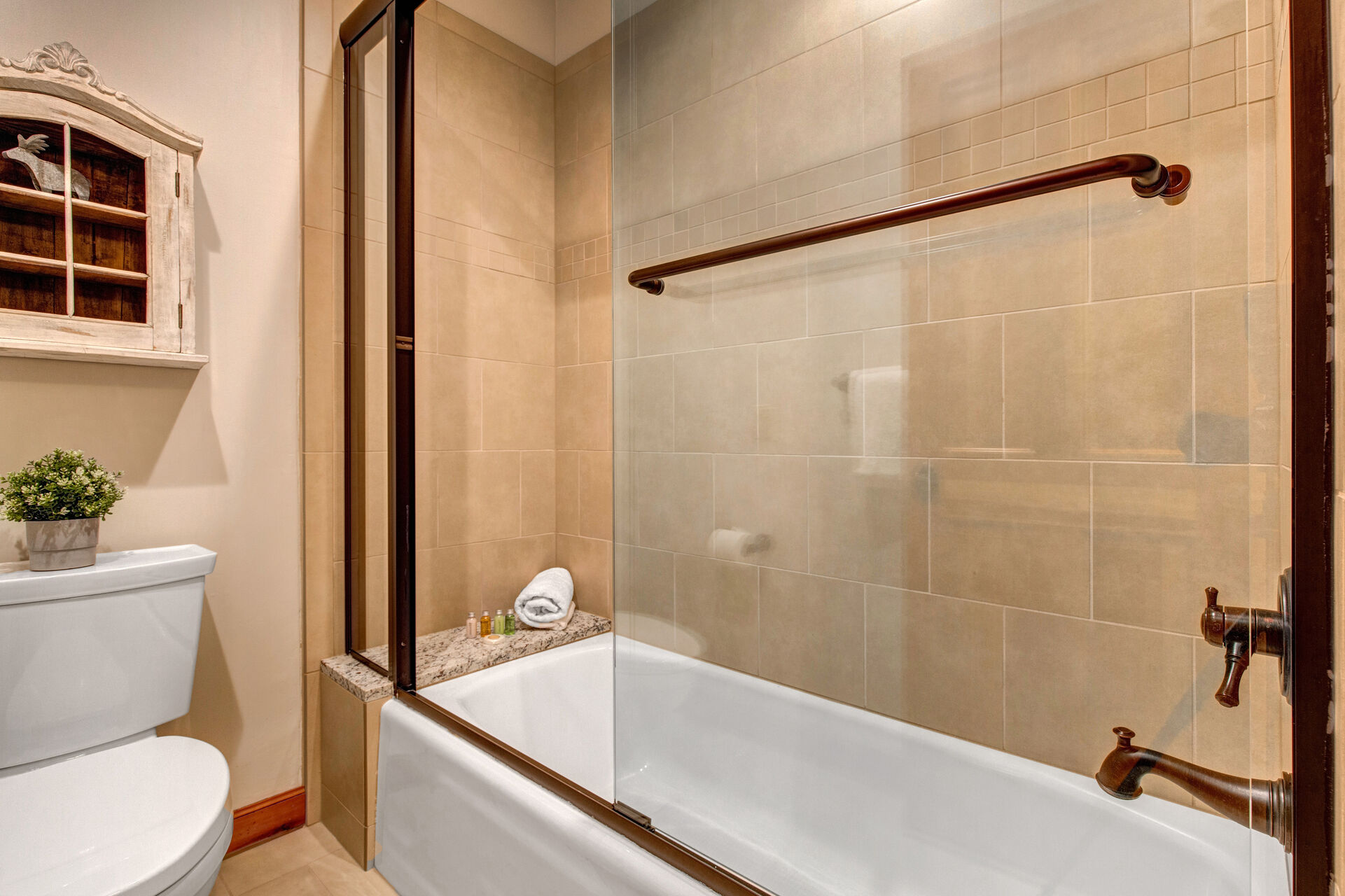 Separate Tub/Shower Combo