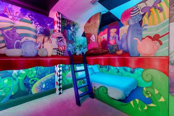 Kids will love this bedroom!