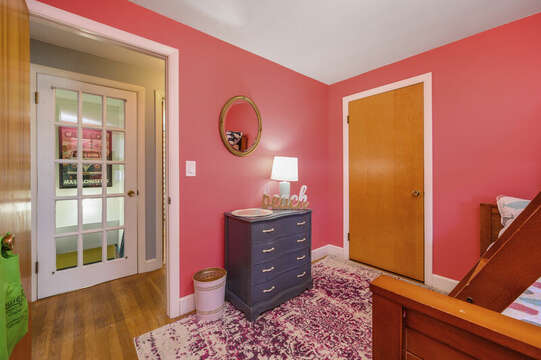 Bedroom 1 on left with a twin over full bunked - 7 Cutter Lane West Yarmouth Cape Cod - New England Vacation Rentals