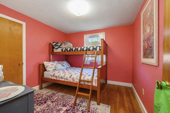 Twin over full bunkbed - 7 Cutter Lane West Yarmouth Cape Cod - New England Vacation Rentals