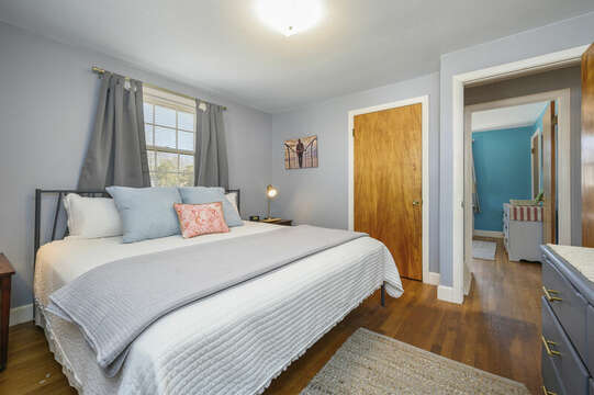 King bed in Bedroom #2 - 7 Cutter Lane West Yarmouth Cape Cod - New England Vacation Rentals