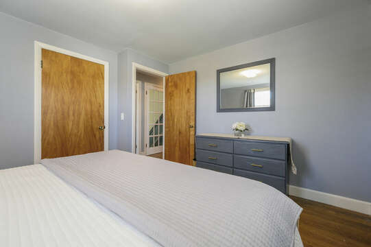 Bedroom #2 with King - 7 Cutter Lane West Yarmouth Cape Cod - New England Vacation Rentals