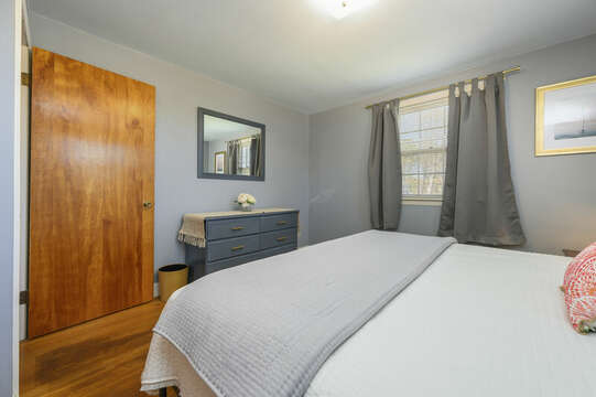 A TV will be in the King Bedroom - 7 Cutter Lane West Yarmouth Cape Cod - New England Vacation Rentals
