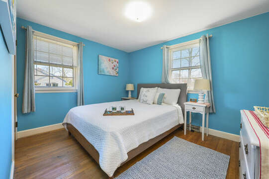 Bedroom #3 on right with a queen bed - 7 Cutter Lane West Yarmouth Cape Cod - New England Vacation Rentals