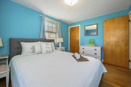 Queen bed in Bedroom #3 - 7 Cutter Lane West Yarmouth Cape Cod - New England Vacation Rentals