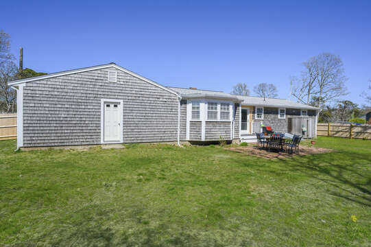 So much back yard space! - 7 Cutter Lane West Yarmouth Cape Cod - New England Vacation Rentals