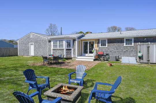 Fire pit for s'mores and ghost stories! - 7 Cutter Lane West Yarmouth Cape Cod - New England Vacation Rentals