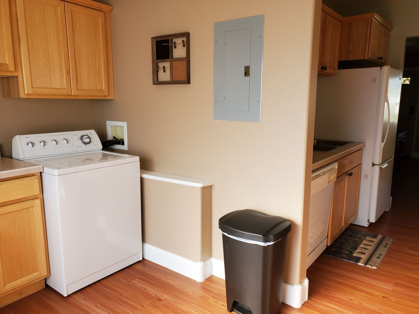 Laundry to Kitchen