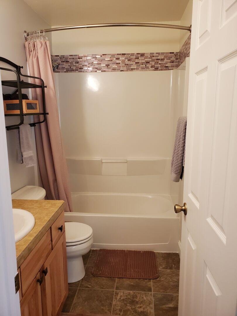 Full Bath in Hallway