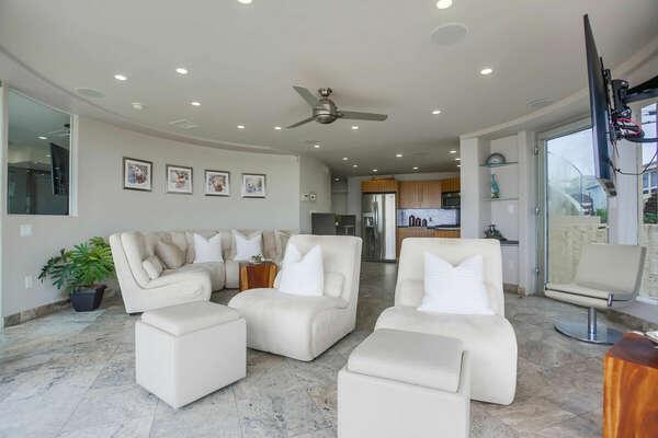 Living Room - Oceanfront