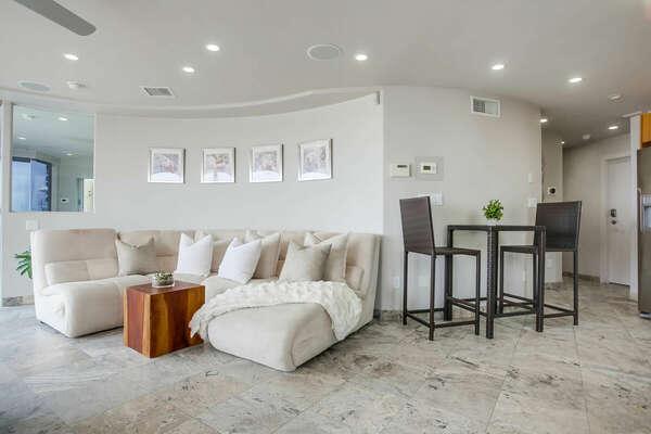 Living Room & Bistro Dining