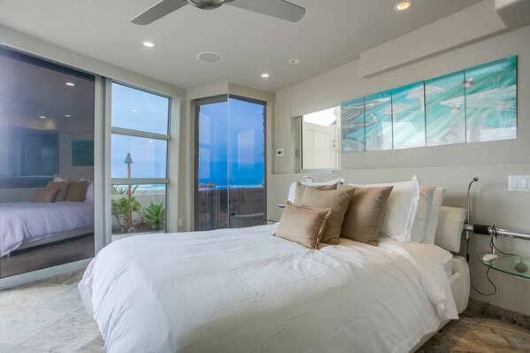 Master Bedroom w/ King - Oceanfront