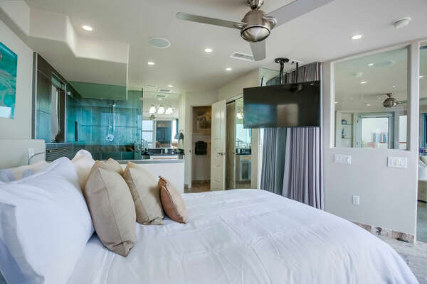 Master Bedroom w/ King