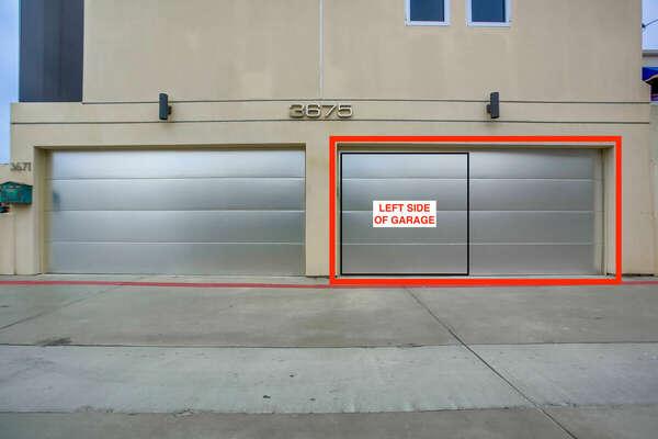Exterior - Garage Parking Space (Left Side)