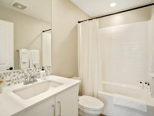Full Guest Bathroom - Third Floor