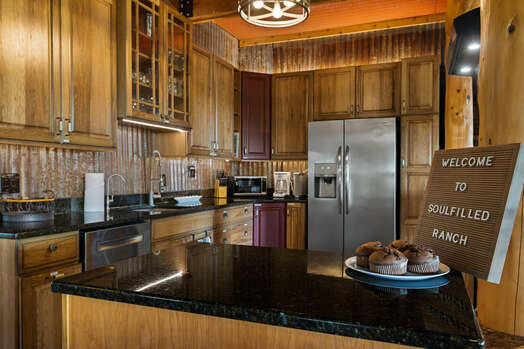 Plenty of Stone Counters - Perfect for Meal Prep and Entertaining
