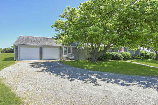 Two car attached garage - 229 Scatteree Road Chatham Cape Cod - New England Vacation Rentals Vacation Rental