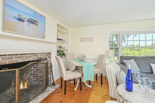 Card or puzzle table - your choice! - 229 Scatteree Road Chatham Cape Cod - New England Vacation Rentals Vacation Rental