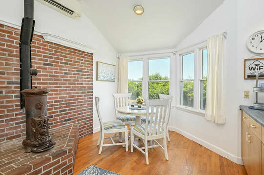 Family room - perfect for morning coffee - 229 Scatteree Road Chatham Cape Cod - New England Vacation Rentals Vacation Rental