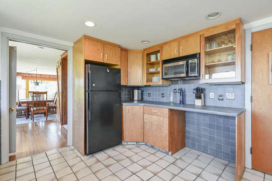 Kitchen - 229 Scatteree Road Chatham Cape Cod - New England Vacation Rentals Vacation Rental