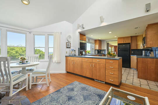 Family room and kitchen - 229 Scatteree Road Chatham Cape Cod - New England Vacation Rentals Vacation Rental