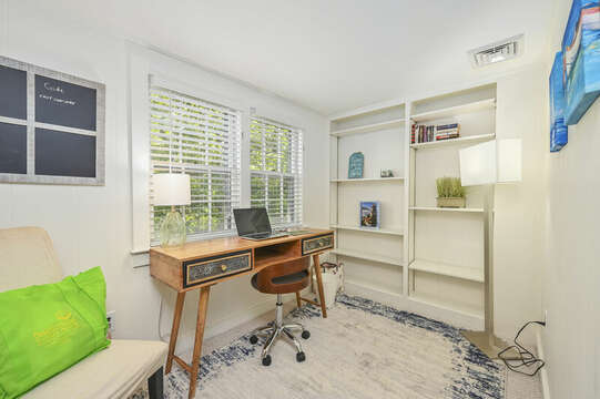 Upstairs office - 229 Scatteree Road Chatham Cape Cod - New England Vacation Rentals Vacation Rental