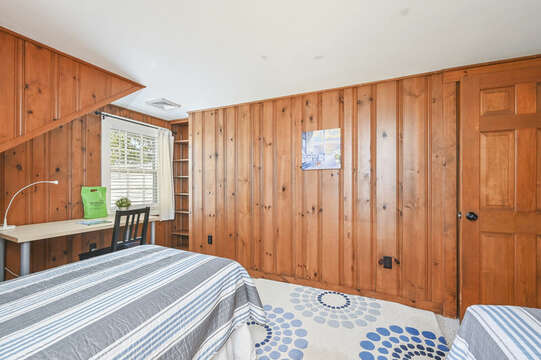 Upstairs Bedroom #4 with 2 twin beds  - 229 Scatteree Road Chatham Cape Cod - New England Vacation Rentals Vacation Rental
