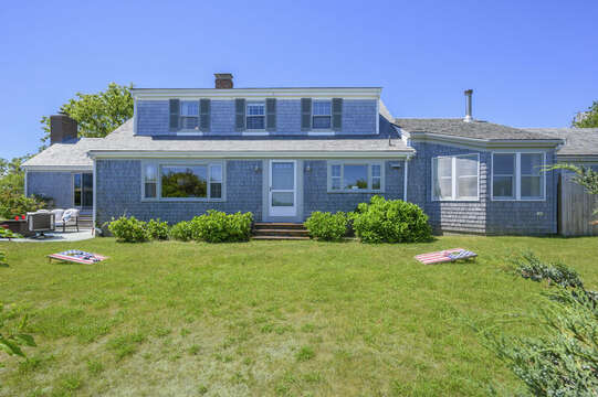 View of Back of Home - 229 Scatteree Road Chatham Cape Cod - New England Vacation Rentals Vacation Rental