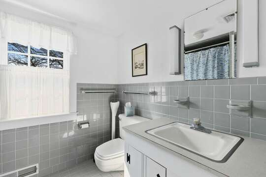Upstairs Bathroom #2  - 229 Scatteree Road Chatham Cape Cod - New England Vacation Rentals Vacation Rental