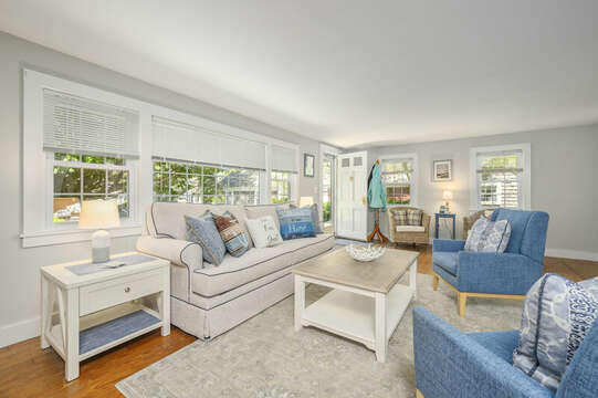 Living Room -21 Pine Street- Harwichport- Cape Cod- New England Vacation Rentals