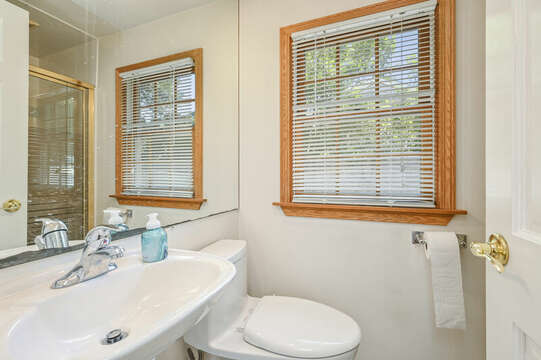 Ensuite bath #1 to bedroom #1at-21 Pine Street- Harwichport- Cape Cod- New England Vacation Rentals