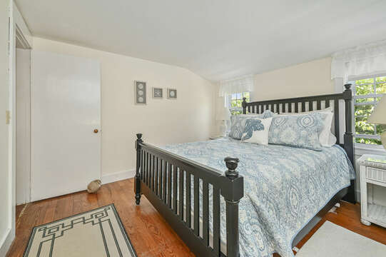Bedroom #3 Queen bed with dresser and closet-21 Pine Street- Harwichport- Cape Cod- New England Vacation Rentals